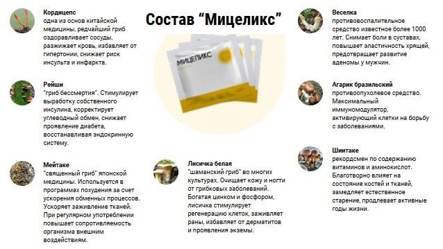 Состав Мицеликс